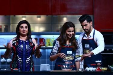 Farah, Alia and Gautam