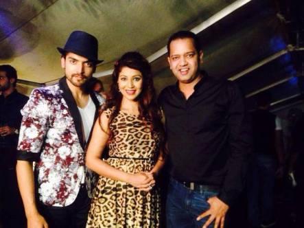 Gurmeet, Debina and Rahul Mahajan