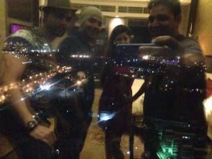 Gurmeet Choudhary, Debina Bonnerjee and friends