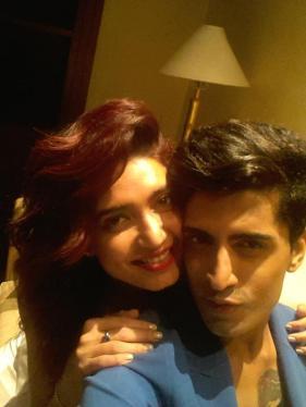 Karishma Tanna and Sushant Divgikar