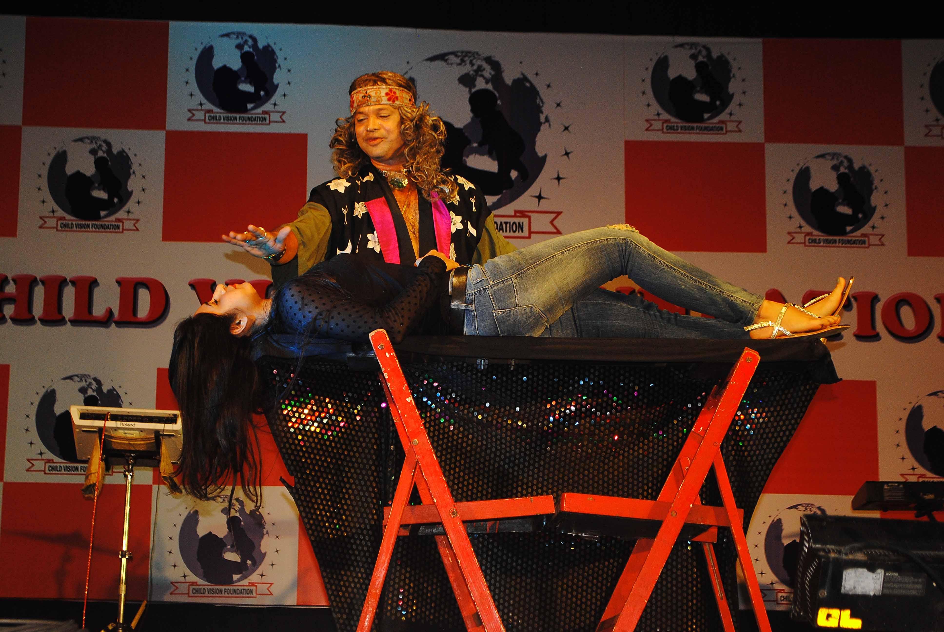 Magician Atul Patil At Child Vision Foundation