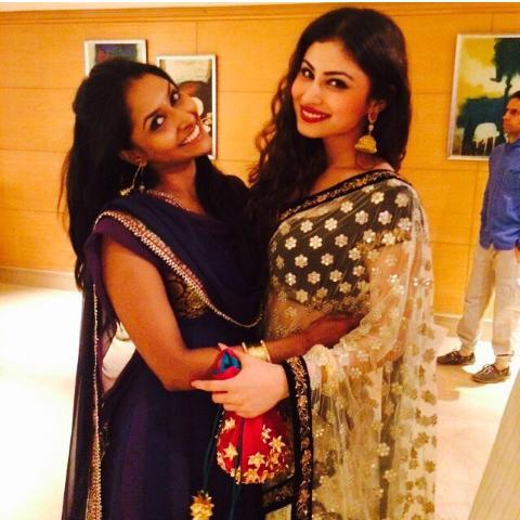 Suchitra and Mouni