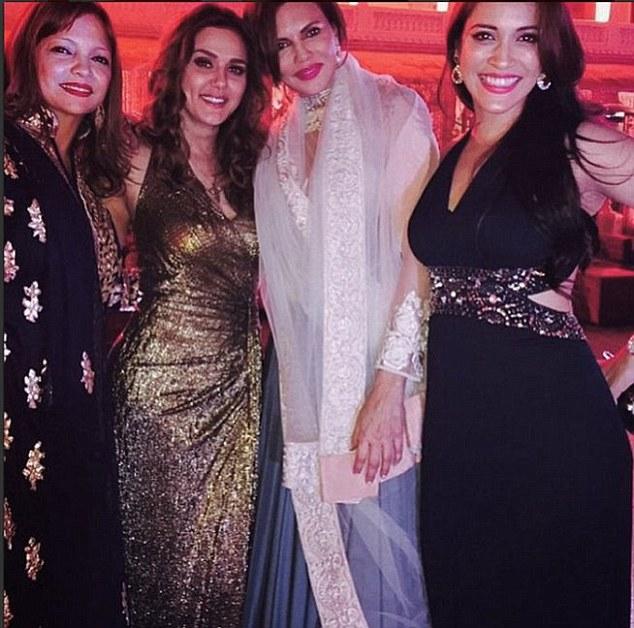 Preity, Deanne Pandey and Rashmi Nigam