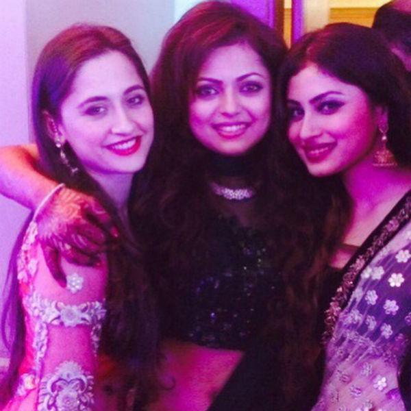 Sanjeeda, Drashti and Mouni