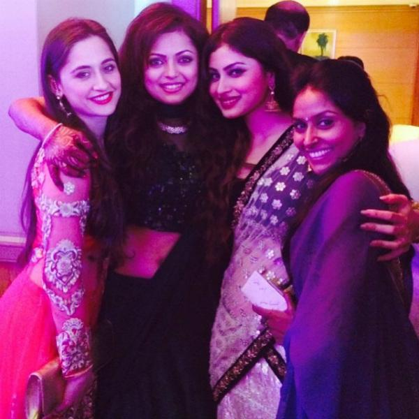 Sanjeeda, Drashti, Mouni and Suchitra Sawant