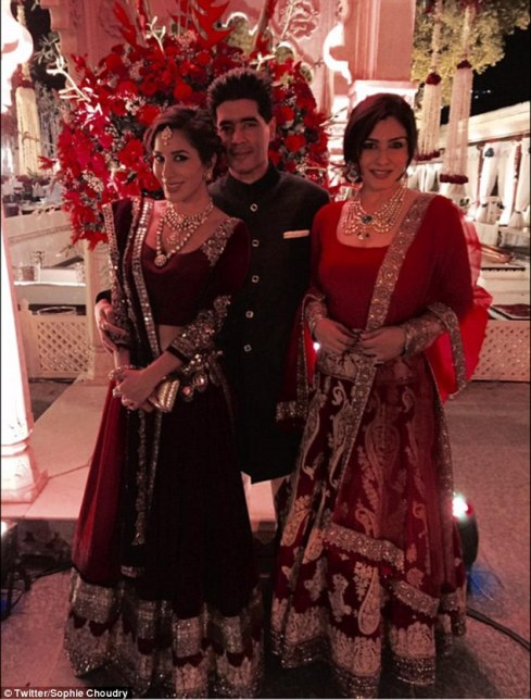 Sophie, Manish and Raveena