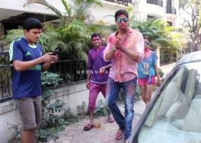 Holi festival in Mumbai