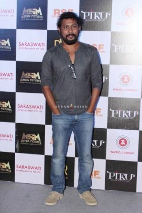 Bollywood director Shoojit Sircar during the trailer launch of film Piku