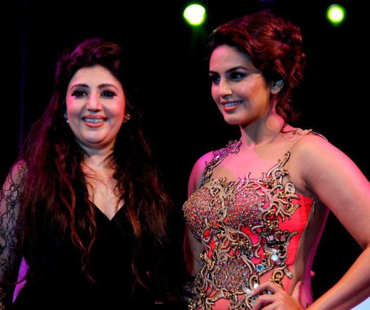 Archana Kochhar and Huma Qureshi