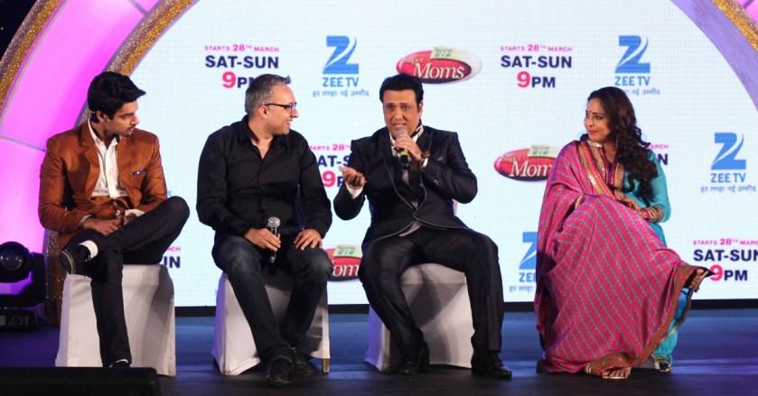 Karan Wahi, Namit Sharma, Govind and, Geeta Kapoor