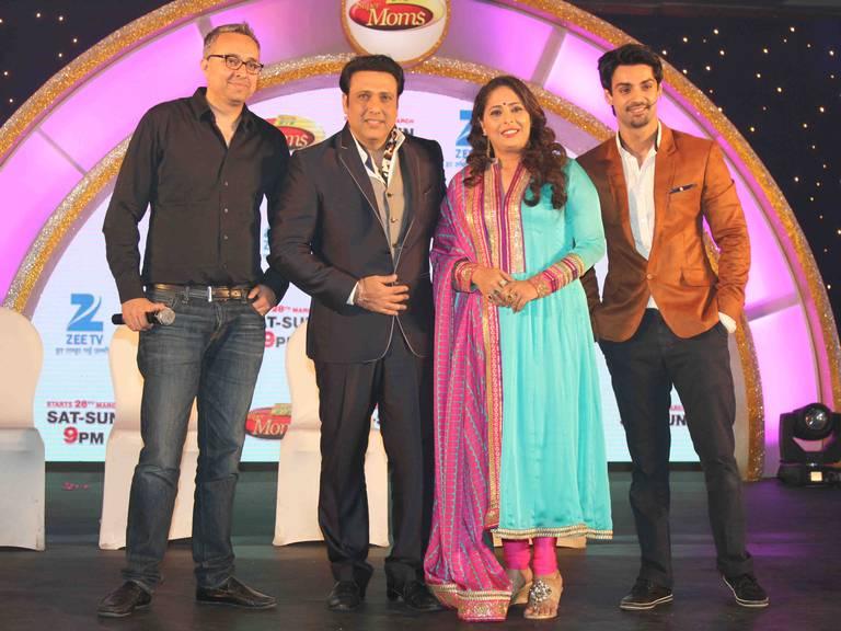Namit Sharma, Govinda, Geeta Kapoor and Karan Wahi