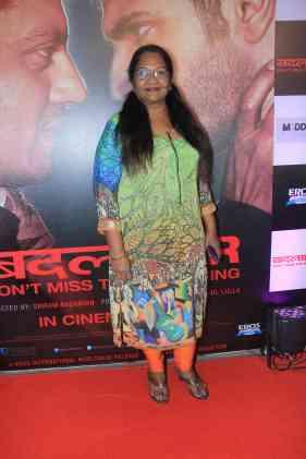 Pratima Kannan at the success bash of Badlapur at sofitel bandra (4)
