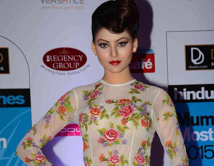 Urvashi Rautela in Neha Agarwal creation