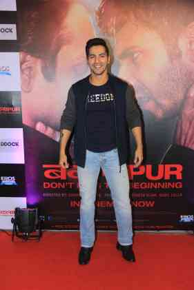 Varun Dhawan at the success bash of Badlapur at sofitel bandra (13)