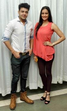 Anirudh Dave and Jasveer Kaur