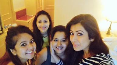 Ankita with Roopal and Rishina