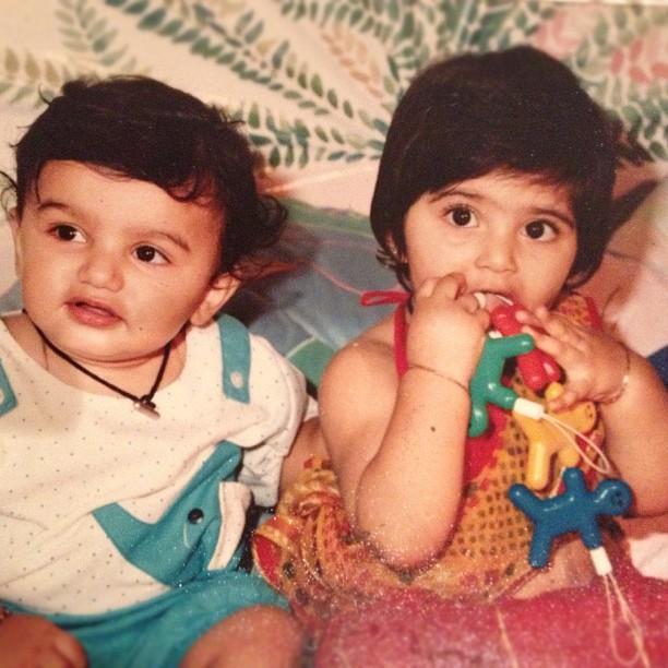 baby sonam and arjun
