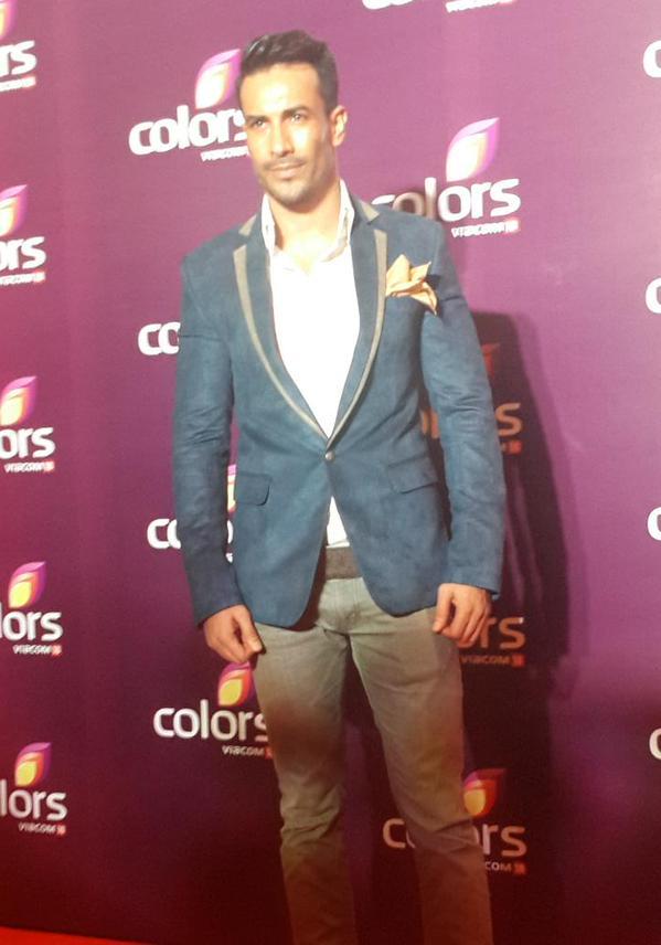 Rajniesh at Colors TV