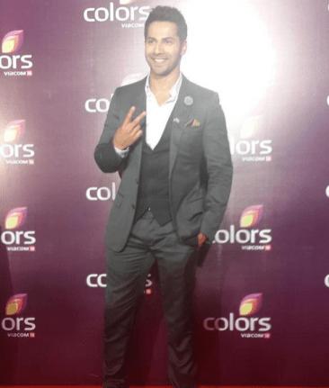 Varun Dhawan at Colors TV