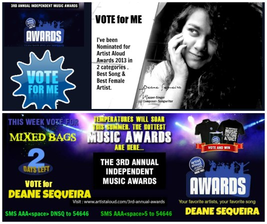 Deane Vote for me Collage