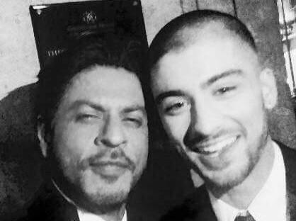 Shah Rukh Khan and Zayn Malik