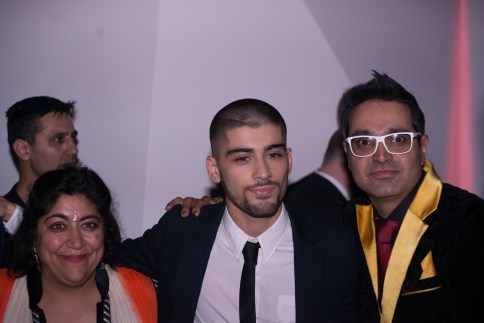 Gurinder , Zayn and Paul Sagoo(Photo Credit Javed&Mizan)