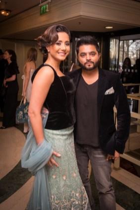 Manrina and Rishi Rich - (Photo Credit Javed&Mizan)