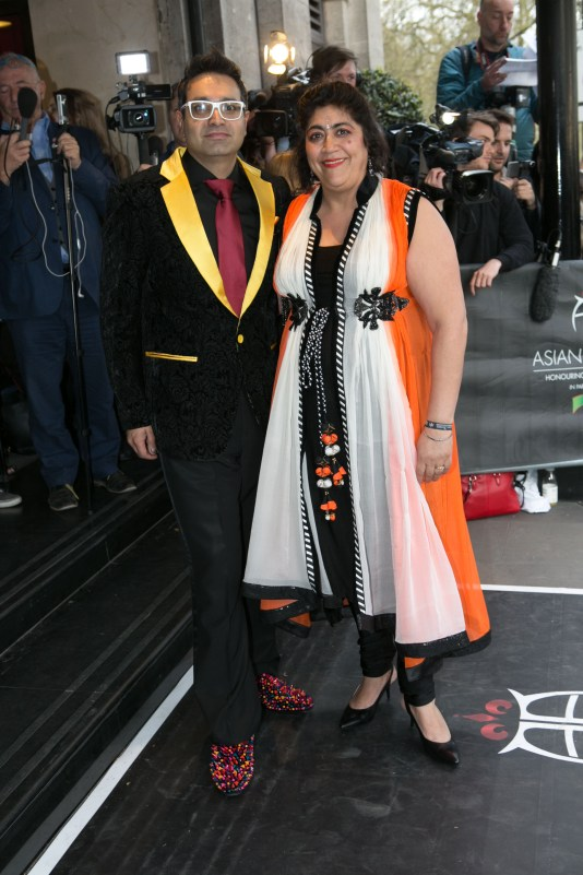 Paul Sagoo and Gurinder Chadha (Photo Credit Javed&Mizan)