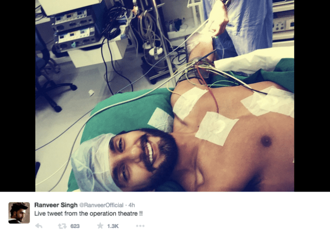 Ranveer Singh Live Tweet Screen shot 2015-04-04 at 3.43.33 AM