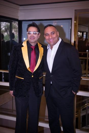 Paul Sagoo and Russel Peters -(Photo Credit Javed&Mizan)