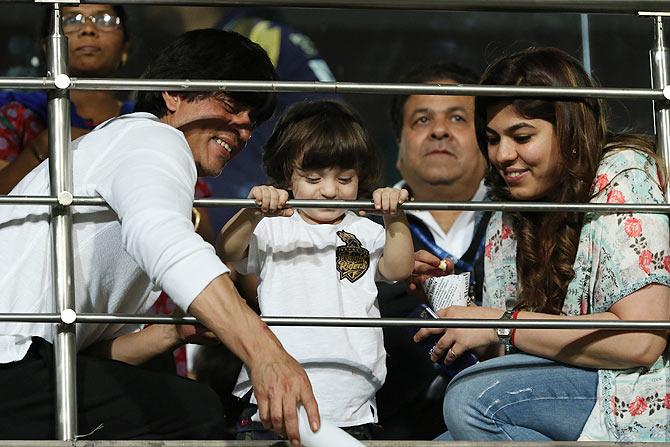 Shah Rukh and Abram