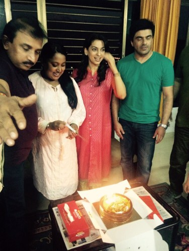 Juhi Chawla celebrated choreographer Shabina Khan`s birthday
