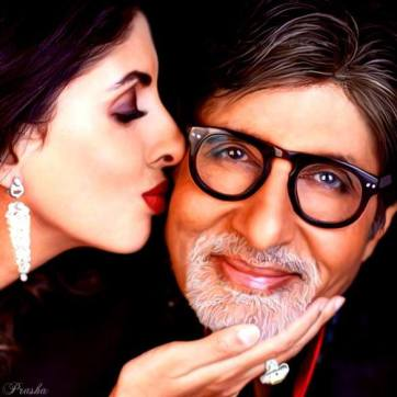 amitabh bachchan and daughter