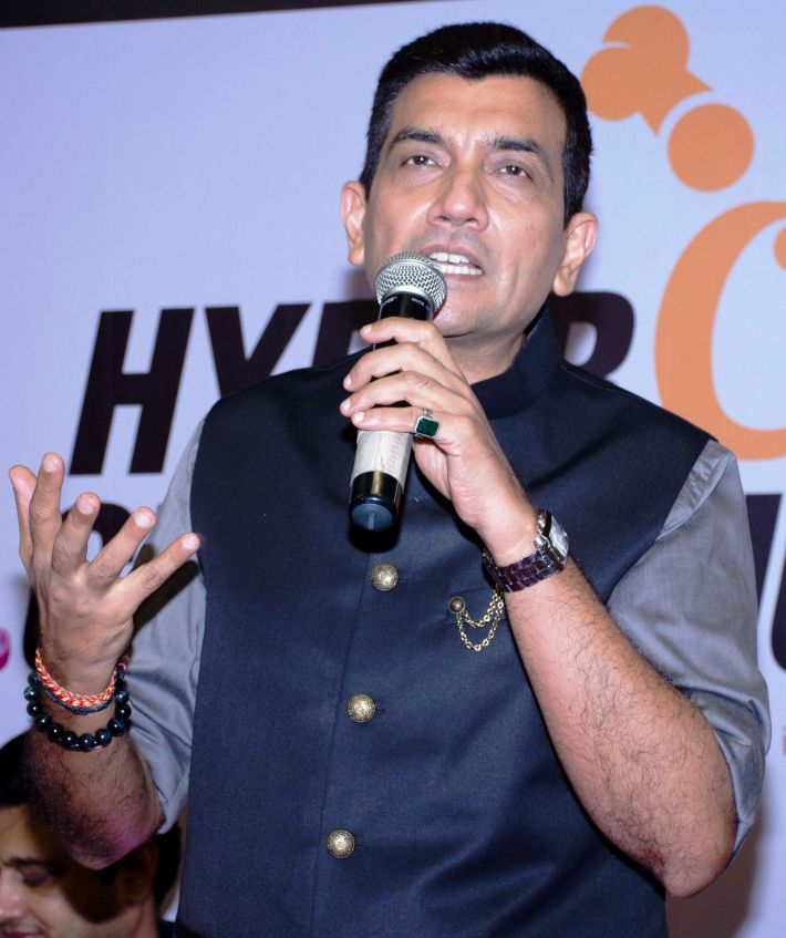 Chef Sanjeev Kapoor at HyperCITY HyperChef Challenge