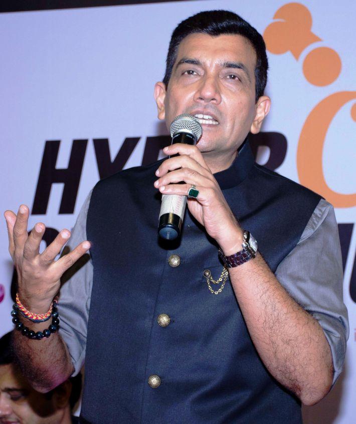 Chef Sanjeev Kapoor at HyperCITY HyperChef Challenge
