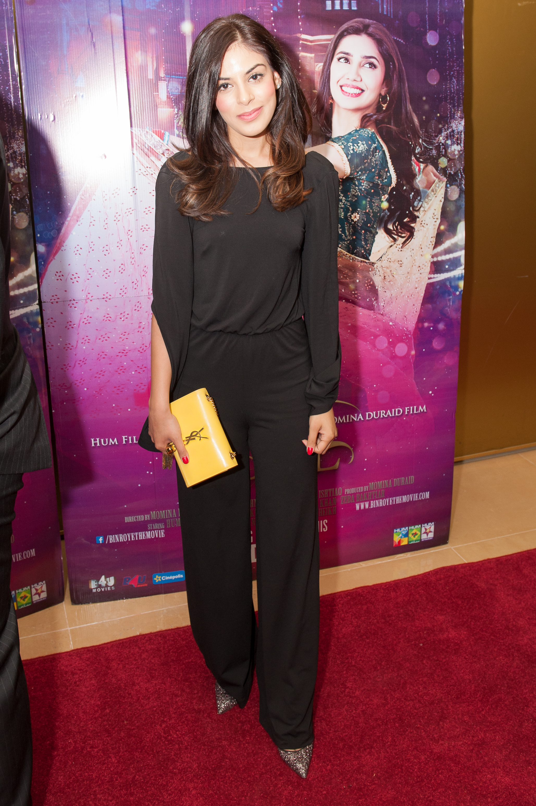 Bin Roye Desi Rascals cast - Yasmin Karimi at Bin Roy premiere