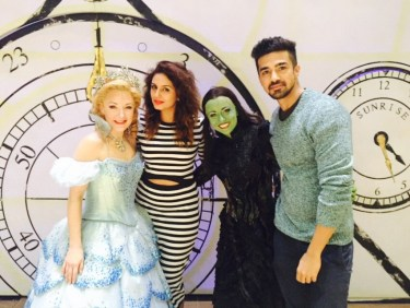 Huma Qureshi, Saqib Saleem, Wicked cast (2)