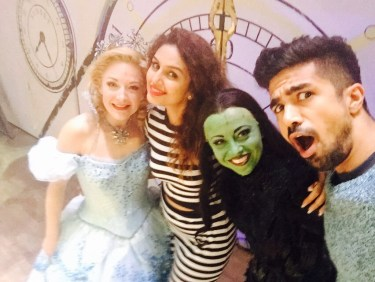 Huma Qureshi, Saqib Saleem, Wicked cast (3)
