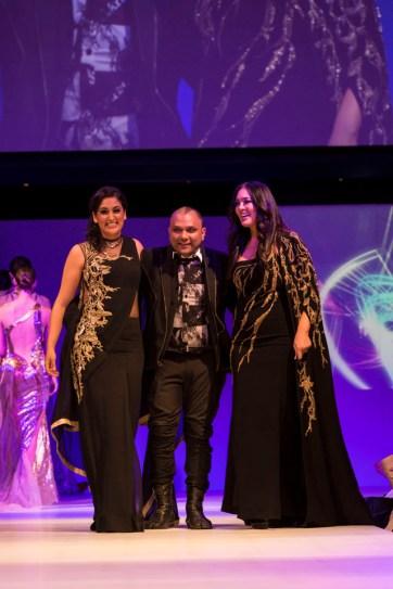 Anamika Khanna and Gaurav Gupta at the fashion show at IFFm 2015
