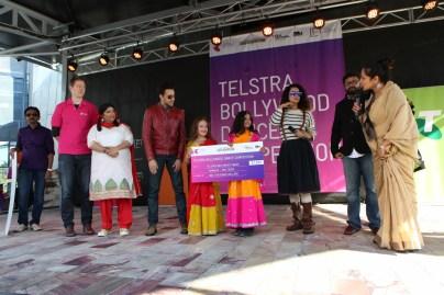 Bollywood Dance compitation at IFFM 2015 2