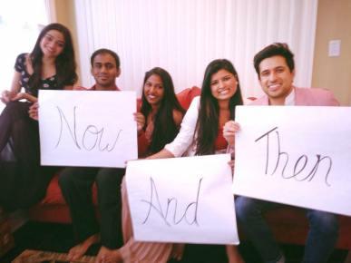 From left: Assitant Directors - Nidhi Jain & Satya Adusumilli, Director - Mohitha Sripathi, Production Manager - Shreya Srivastava, & Producer - Rome Chopra