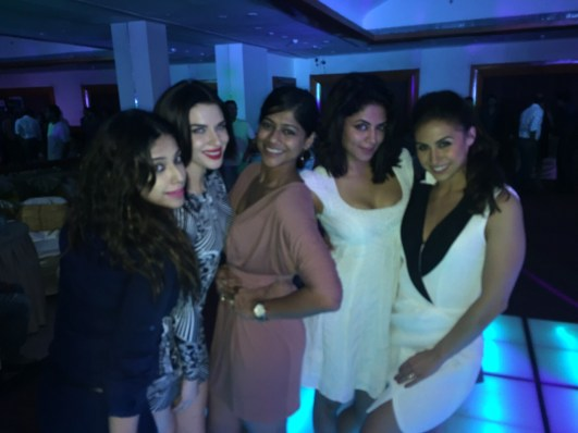 Scarlett at Manish Paul Birthday bash (1)