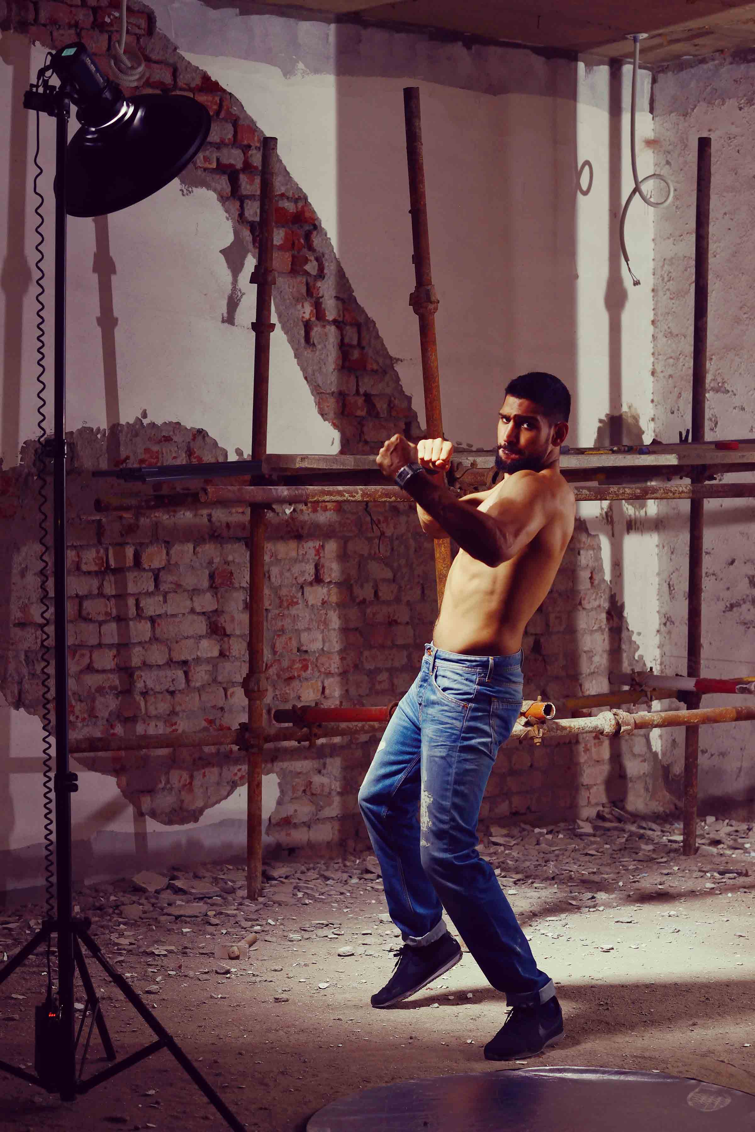 Boxing Champion Amir Khan for Pepe Jeans Pakistan (10)