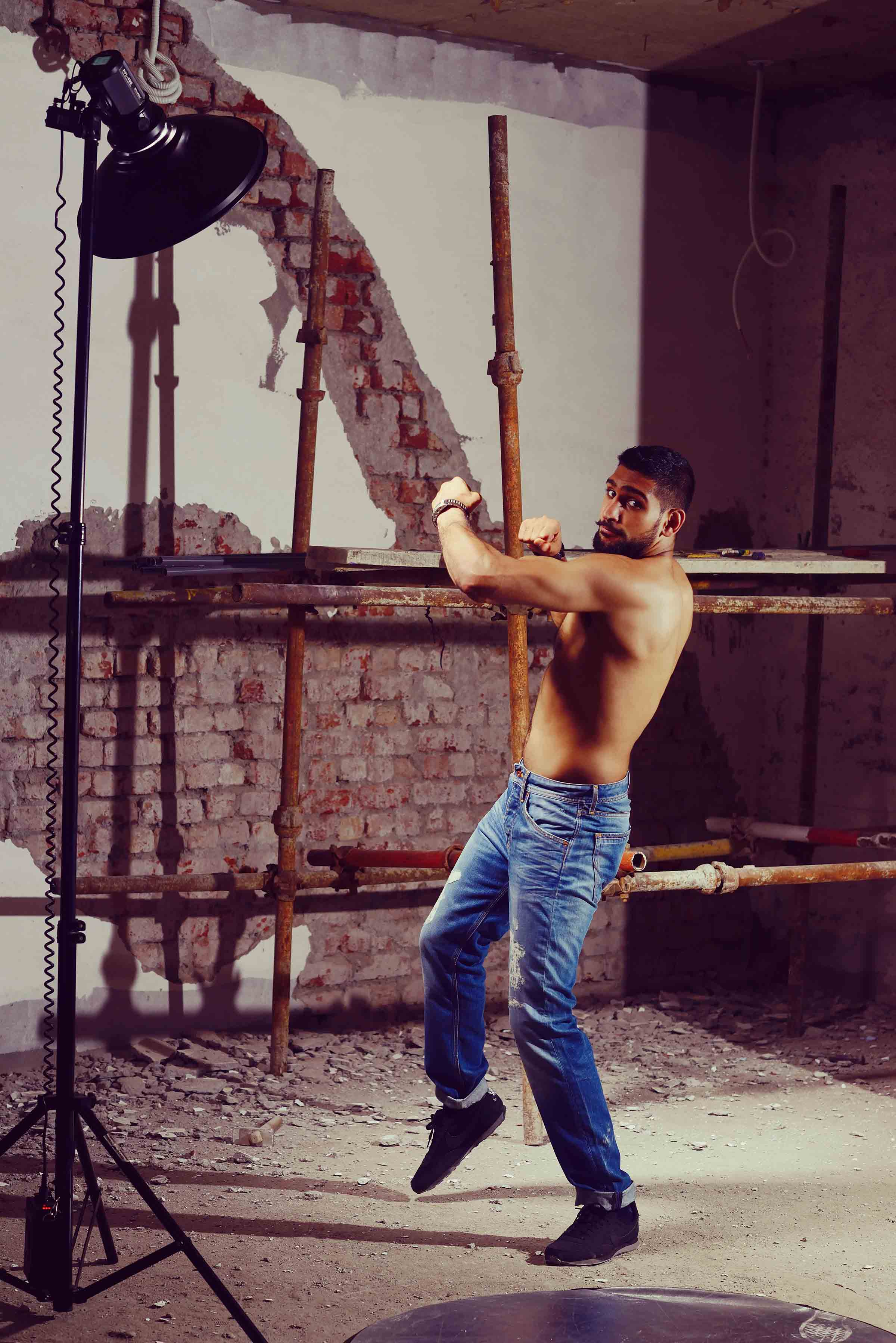 Boxing Champion Amir Khan for Pepe Jeans Pakistan (13)
