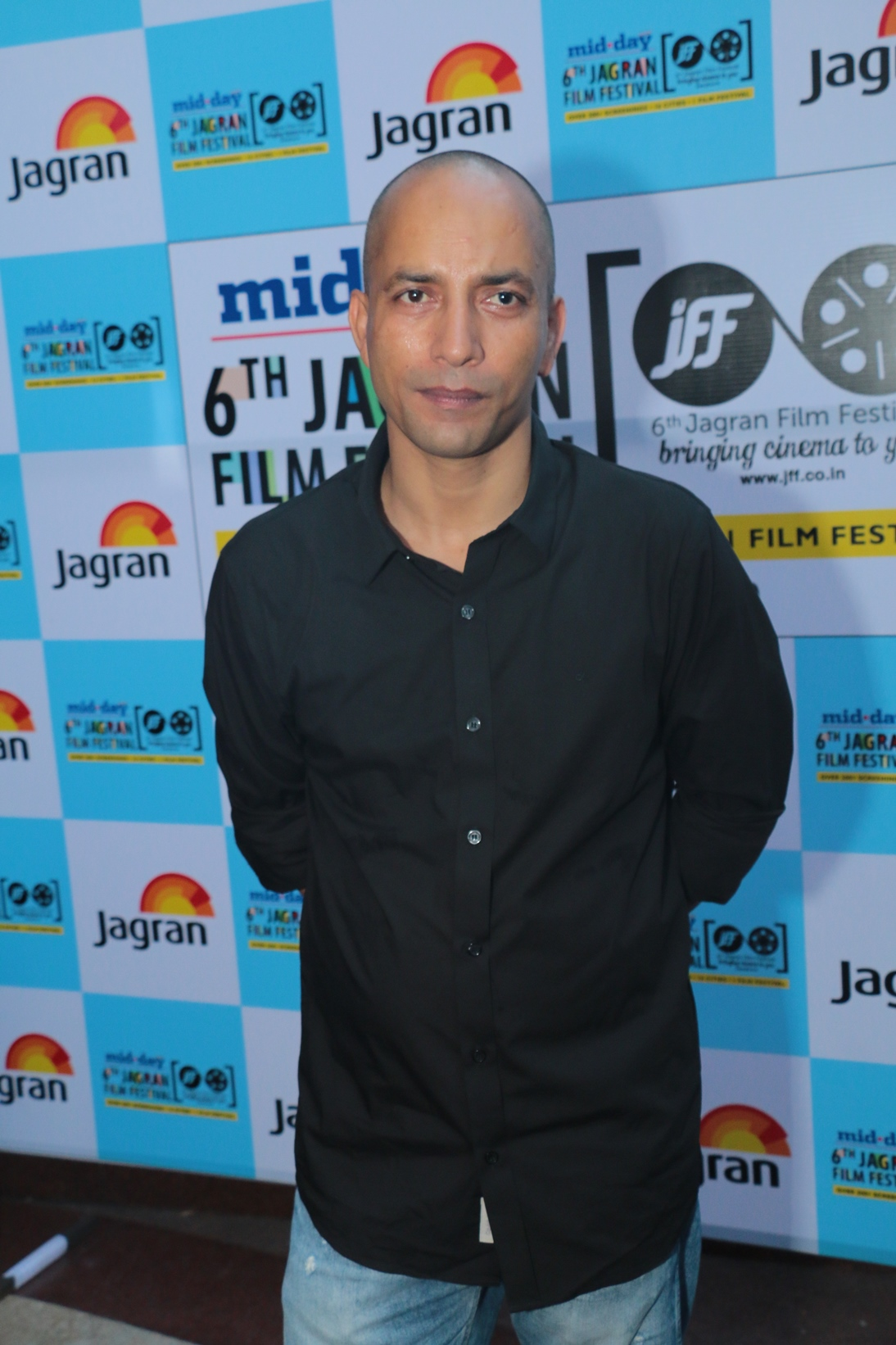 Deepak Dobriyal at the Opening Ceremony of the 6th Jagran Film Festival 2015
