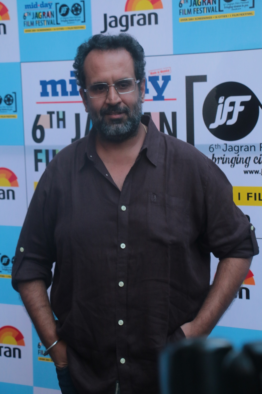 Director Anand Rai at the Opening Ceremony of the 6th Jagran Film Festival 2015