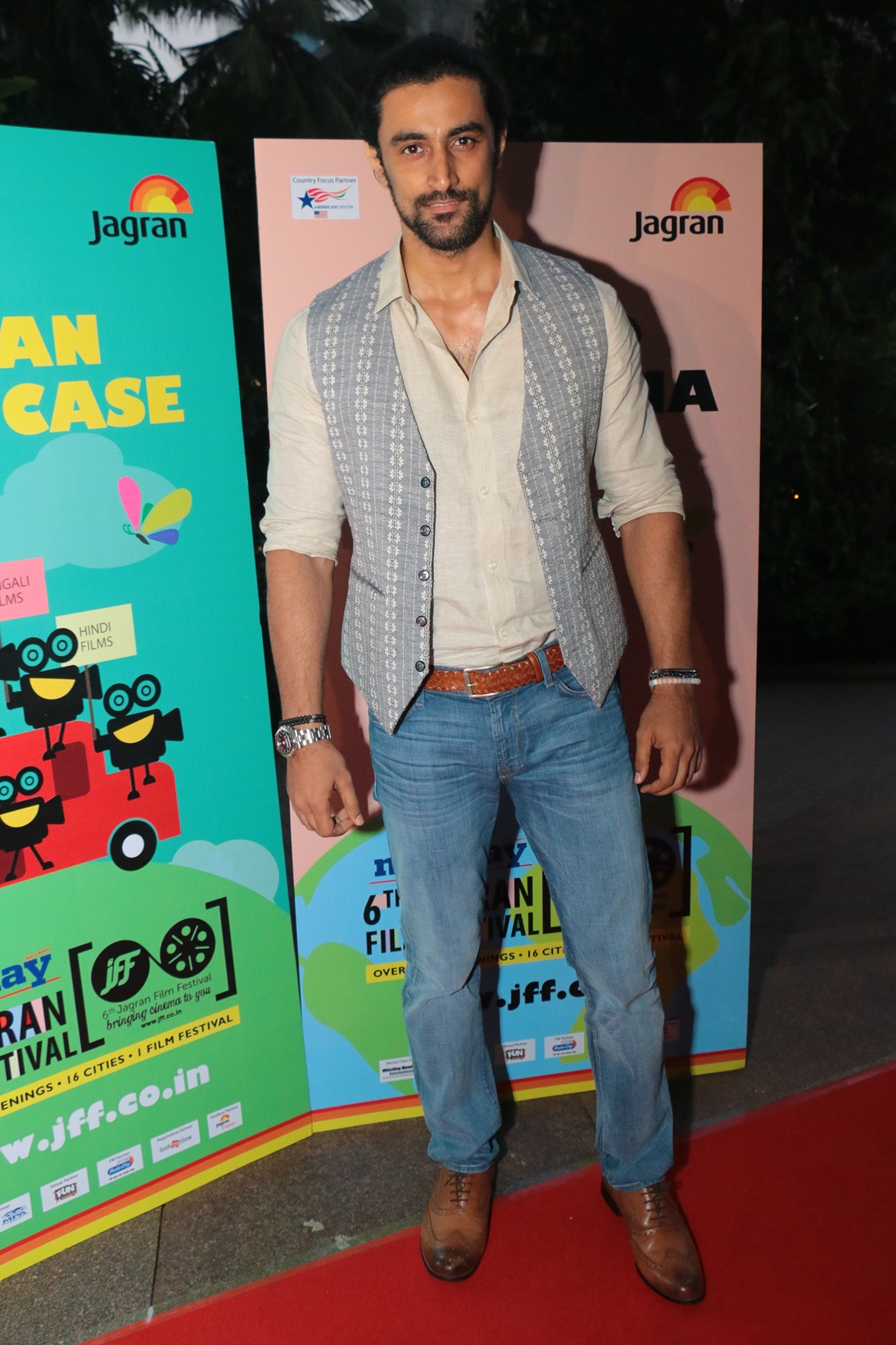 Kunal Kapoor at the Opening Ceremony of the 6th Jagran Film Festival 2015