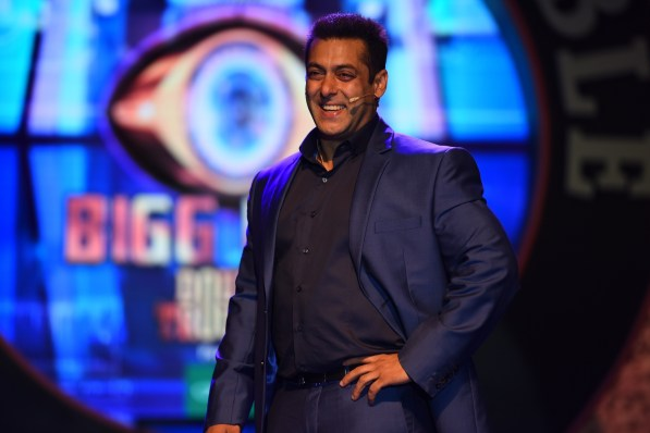 Salman Khan at Big Boss Nau 3