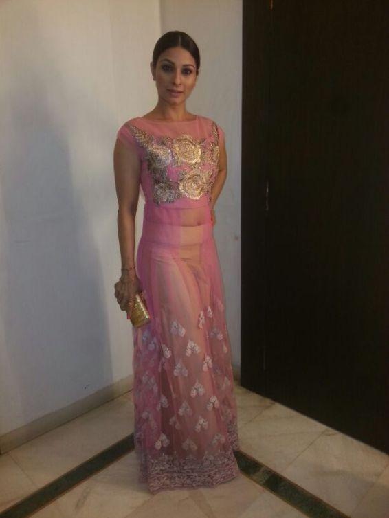 Tanishaa at Manish Malhotra (2)