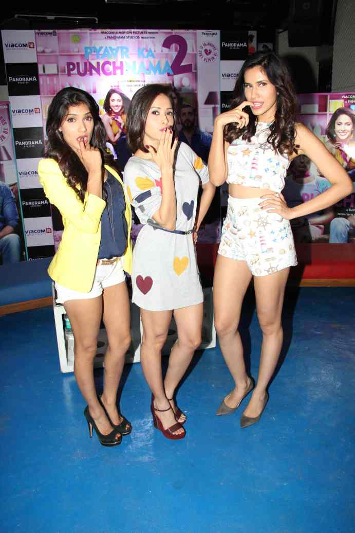 Ishita Sharma, Nusrat Bharucha and Sonalli Sehgall